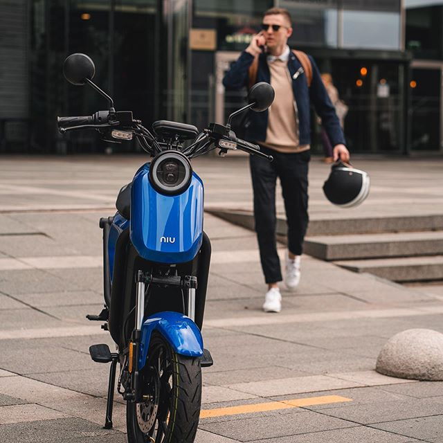 niu electric motorbike